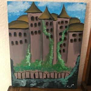 Canevas Castle Painting